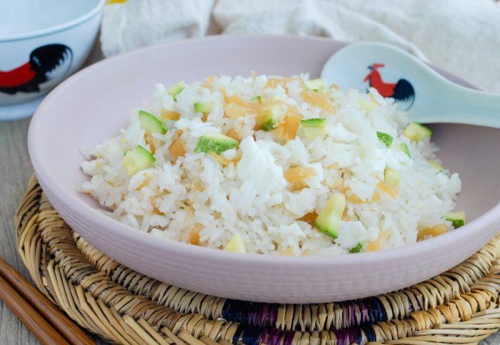 Cara memasak nasi goreng Putih