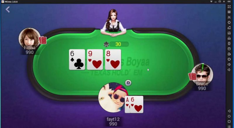 Poker Texas Boyaa IOS dan Android, Game Poker Mobile Paling Asyik!