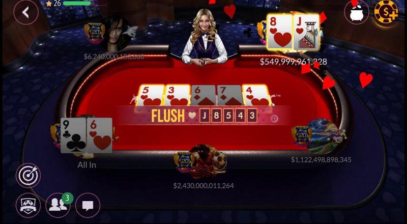 Permainan Online Zynga Poker