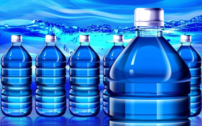 usaha air isi ulang kemasan galon